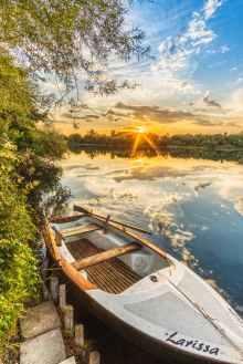 white larissa boat